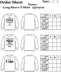 COKE LONG T-SHIRT ORDER SHEET2