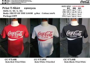 COKE T-SHIRT CC-VT18