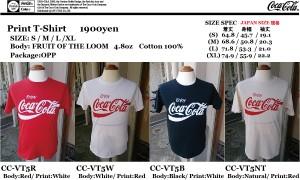 COKE T-SHIRT CC-VT5