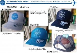 PA MESH CAP