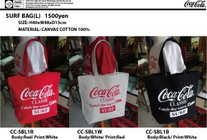 COKE SURF BAG-L CC-SBL1