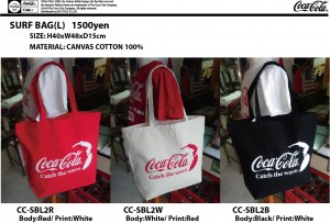 COKE SURF BAG-L CC-SBL2