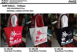 COKE SURF BAG-L CC-SBL4