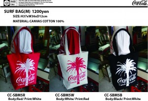 COKE SURF BAG-M CC-SBM5